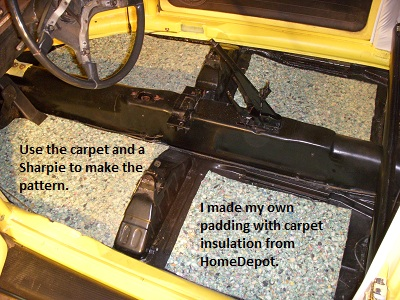 How to install the tmi carpet kit part 1 insanely carpet3 publicscrutiny Images