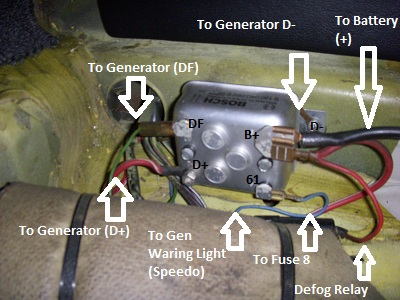 Vw Voltage Regulator Wiring on vw motorola alternator wiring diagram