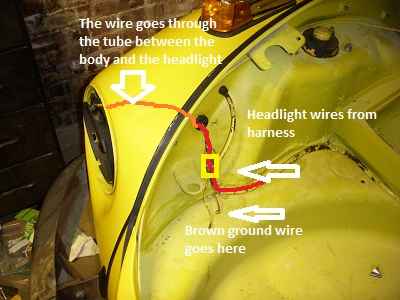 lights4 electrical minor harnesses and grounds insanely vw beetle wiring harness routing at readyjetset.co